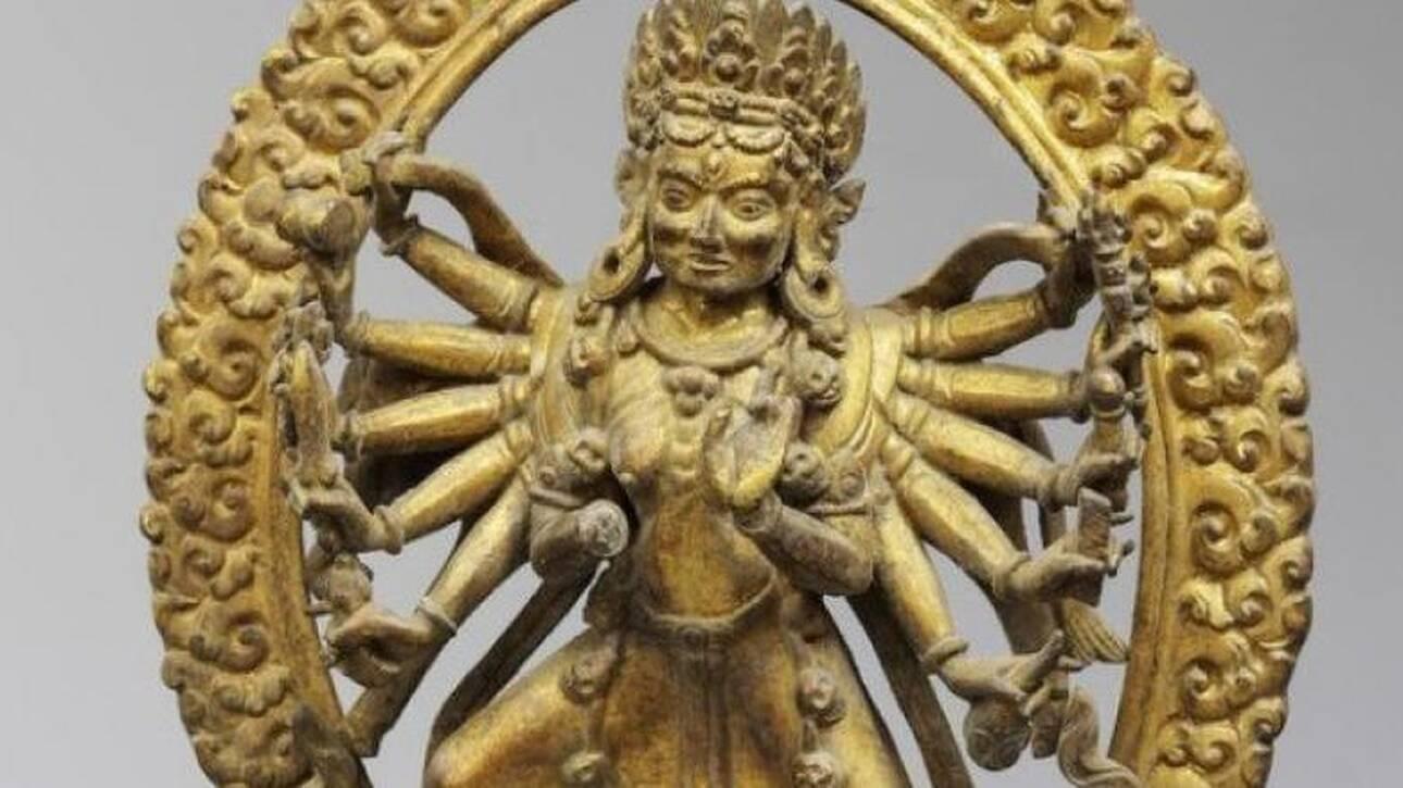 Γλυπτά από το Νεπάλ αποσύρθηκαν από δημοπρασία - Είχαν κλαπεί από ναό