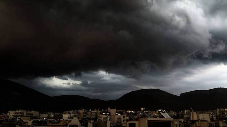 Καιρός: Καταιγίδες και μικρή πτώση θερμοκρασίας