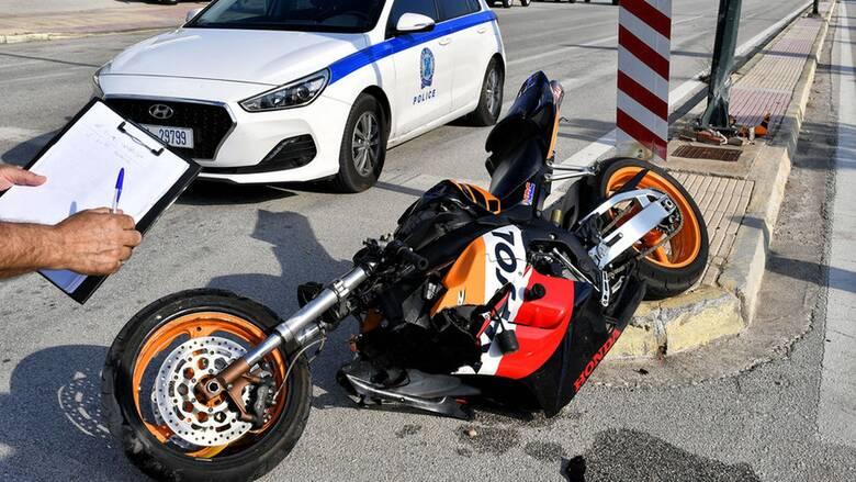 Τραγωδία στο Λουτράκι: Νεκρός 19χρονος οδηγός μηχανής μετά από σφοδρή σύγκρουση με Ι.Χ.