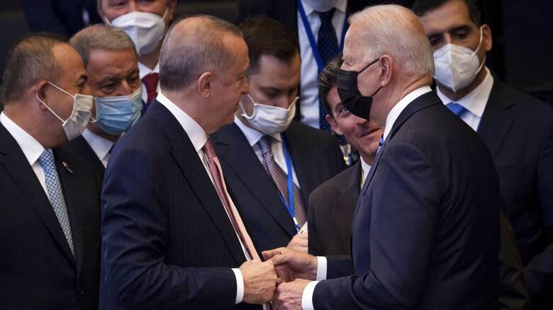 Μπάιντεν μετά τη συνάντηση με Ερντογάν: «Είμαι αισιόδοξος ότι θα κάνουμε πραγματική πρόοδο»