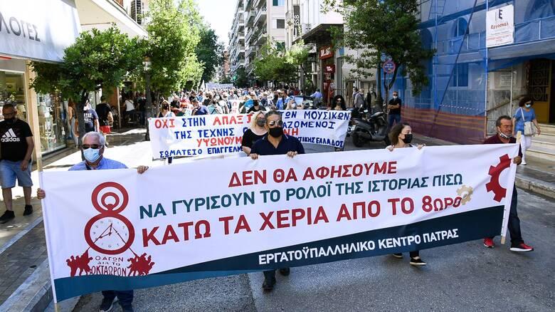 Νέα απεργία αύριο για το εργασιακό - Χωρίς μετρό η Αθήνα, πώς θα κινηθούν τα λεωφορεία