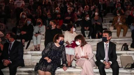 Κατάμεστο το Ηρώδειο στην πρεμιέρα του Φεστιβαλ Αθηνών - Παρούσα και η Πρόεδρος της Δημοκρατίας