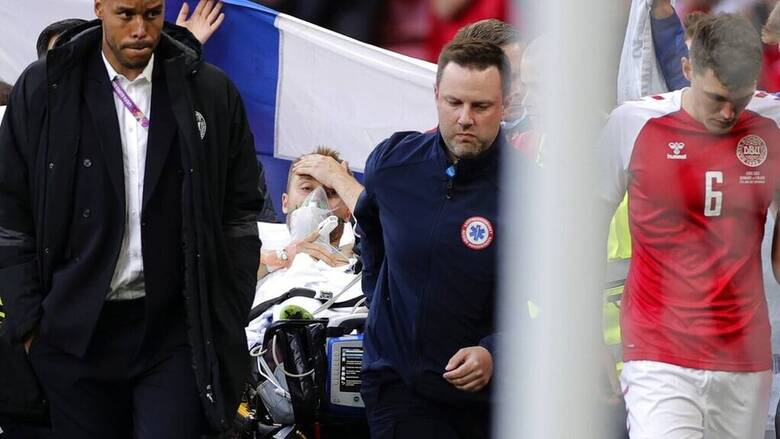 Euro 2020: To μήνυμα αισιοδοξίας του Έρικσεν και η πρώτη ανάρτηση από το νοσοκομείο