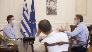Συνάντηση Μητσοτάκη με τον συνιδρυτή της Instashop - Το «θαύμα» που πέτυχε η ελληνική εταιρεία