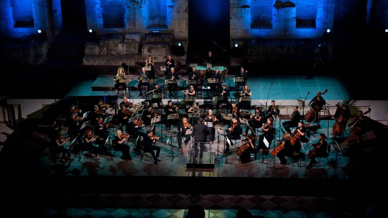 Η Εθνική Συμφωνική Ορχήστρα της ΕΡΤ στο Φεστιβάλ Αθηνών Επιδαύρου