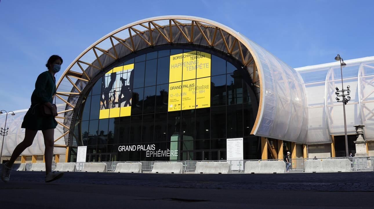 Παρίσι: Εγκαινιάστηκε το «Εφήμερο Grand Palais» - Μια εντυπωσιακή προσωρινή εγκατάσταση