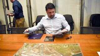 Αυτοψία Χαρδαλιά στην Ιπποκράτειο Πολιτεία για τα έργα πυροπροστασίας