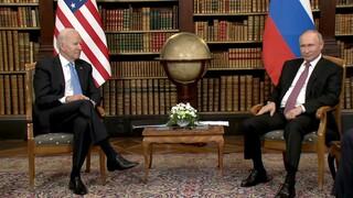 Όλα τα βλέμματα στη Γενεύη: Ξεκίνησε η συνάντηση Μπάιντεν - Πούτιν