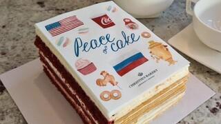 Γενεύη - «Το Κέικ της Ειρήνης»: Όταν ακόμη και τα γλυκά κρατούν διπλωματικές ισορροπίες