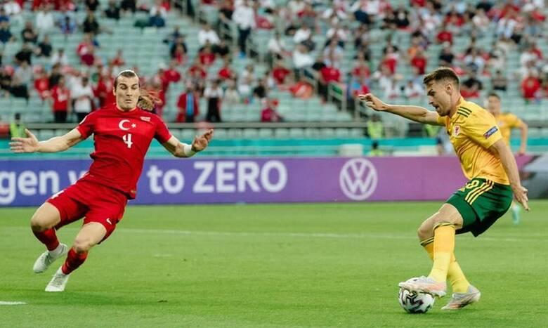 Euro 2020: Τουρκία-Ουαλία 0-2 - Θρίαμβος της παρέας του Μπέιλ