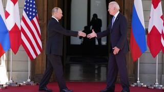 «Εγκώμια» Πούτιν για Μπάιντεν μετά τη Γενεύη