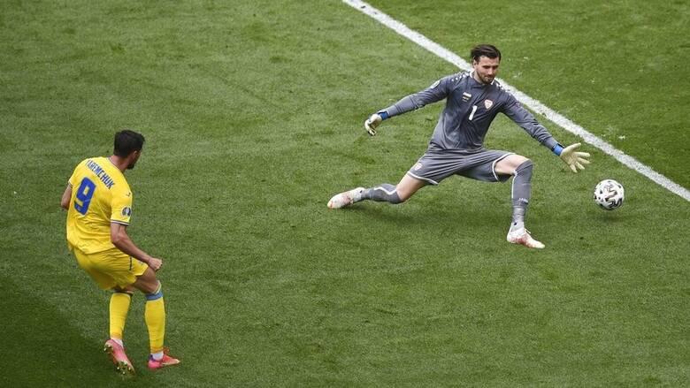 Euro 2020: «Ζωντανή» στο κυνήγι της πρόκρισης η Ουκρανία - Νίκησε 2-1 τη Βόρεια Μακεδονία