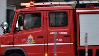 Φωτιά σε βυτιοφόρο στον Ασπρόπυργο - Έκτακτη ειδοποίηση από το 112