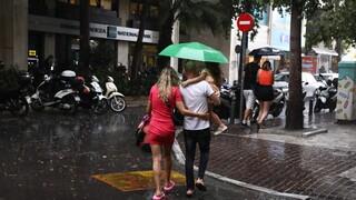 Καιρός: Βροχές και καταιγίδες και την Κυριακή