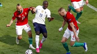 Euro 2020: Ουγγαρία - Γαλλία 1-1 -Τα βρήκαν «σκούρα» οι Γάλλοι