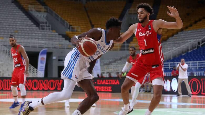 Ελλάδα - Πουέρτο Ρίκο 77-69: Έτσι έκανε το 2/2 η Εθνική στο τουρνουά Ακρόπολις