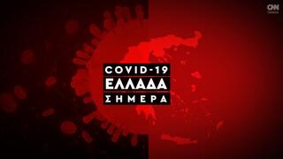 Κορωνοϊός: Η εξάπλωση της Covid 19 στην Ελλάδα με αριθμούς (21/06)