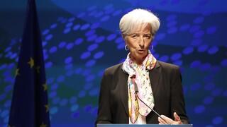 Λαγκάρντ: Επιτάχυνση της οικονομίας στην ευρωζώνη από το τρέχον τρίμηνο