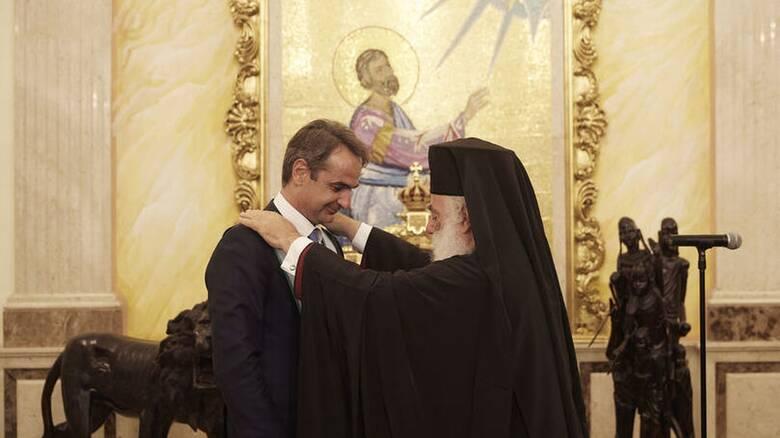 Μητσοτάκης: Αμέριστη η συμπαράστασή μας στο Πατριαρχείο Αλεξανδρείας
