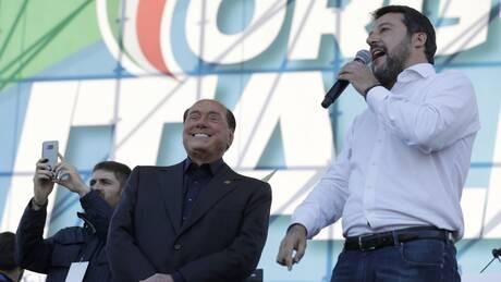 Ιταλία: Συγχώνευση κόμματος Μπερλουσκόνι - ακροδεξιάς για τις εκλογές του 2023