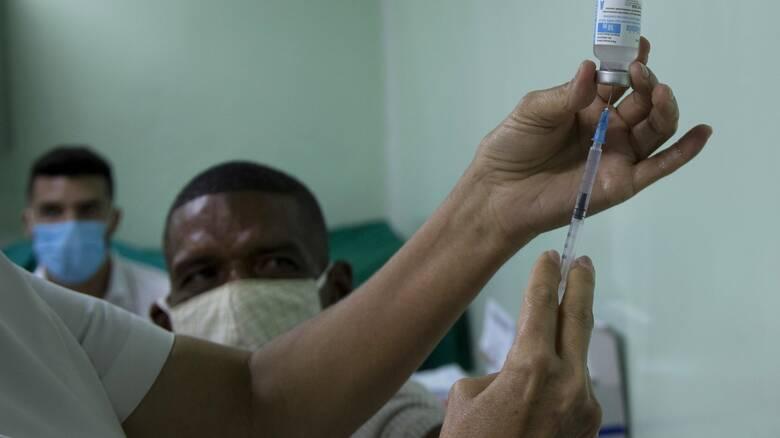 Κορωνοϊός: Στο 92,28% η αποτελεσματικότητα του κουβανικού εμβολίου Abdala