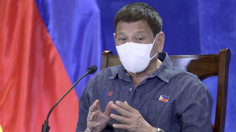 Κορωνοϊός - Φιλιππίνες: Με φυλάκιση απειλεί τους αρνητές του εμβολιασμού ο Ντουτέρτε