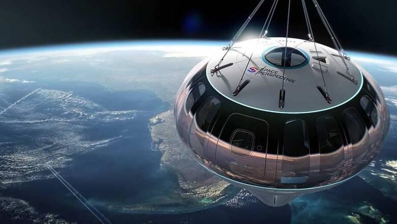 Ευκαιρία: Αερόστατο σε ταξιδεύει στην άκρη του διαστήματος «μόνο» με 125.000 δολάρια το άτομο