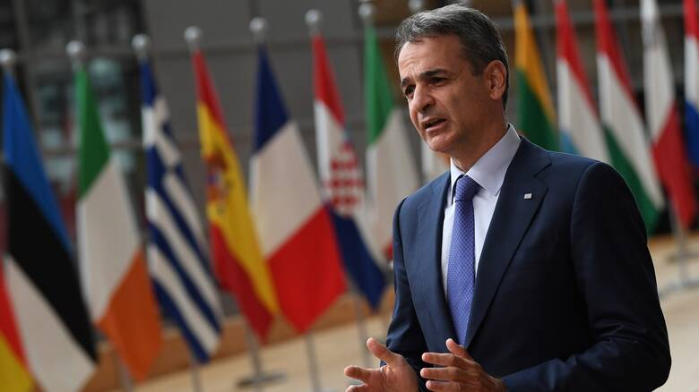 Μητσοτάκης από Σύνοδο Κορυφής:Με προϋποθέσεις η νέα χρηματοδότηση της Τουρκίας για το μεταναστευτικό