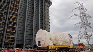 MYTILINEOS: Εγκατέστησε το μεγαλύτερο αεριοστρόβιλο στην Ελλάδα (vid)