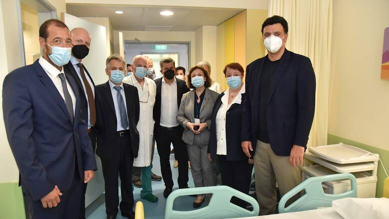 Ο ΟΠΑΠ συνεχίζει δυναμικά το μεγάλο έργο ανακαίνισης των δύο παιδιατρικών νοσοκομείων