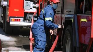 Φωτιά σε νταλίκα στην Εγνατία: Κάηκε ολοσχερώς το όχημα - Σώος ο οδηγός