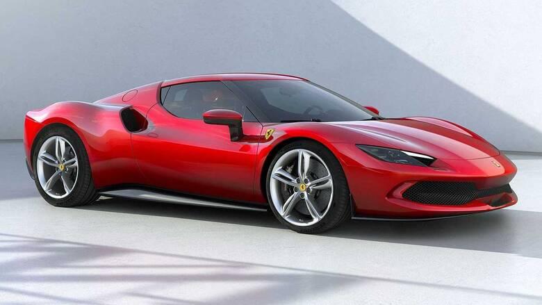 Η ολοκαίνουργια Ferrari 296 GTB των 830 υβριδικών ίππων είναι εξακύλινδρη αλλά δεν είναι Dino