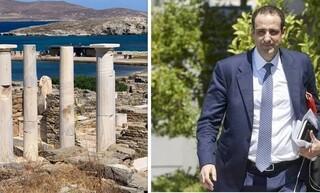 Καθαρισμός στο λιμάνι και τον αρχαιολογικό χώρο της Δήλου - Το μήνυμα του Γρηγόρη Δημητριάδη