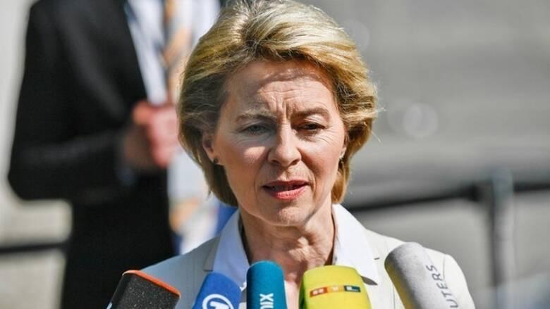 Φον ντερ Λάιεν: Η ΕΕ δεν θα δεχθεί ποτέ λύση δύο κρατών για την Κύπρο
