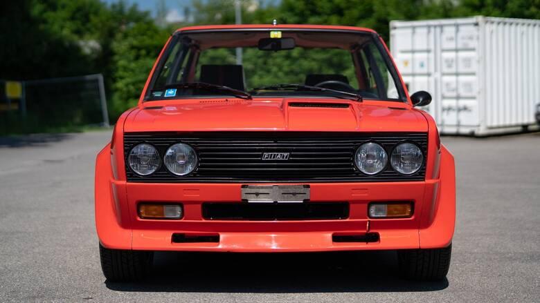 Αυτό το Fiat 131 Abarth Rally Stradale είναι η βάση του θρυλικού αγωνιστικού