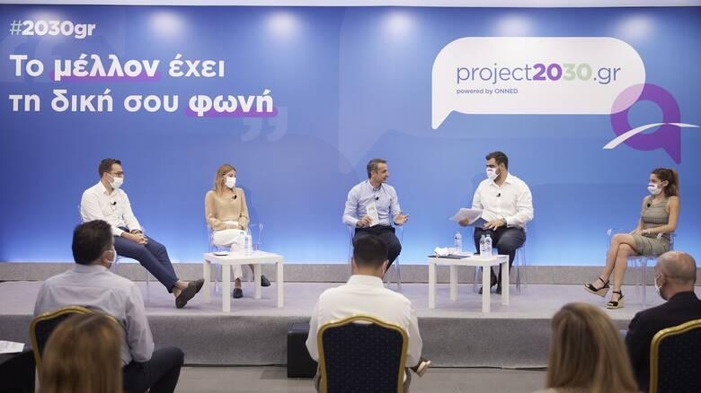 Μητσοτάκης: Οι πολιτικές μας πρέπει να αντανακλούν καλύτερες προοπτικές για τους νέους