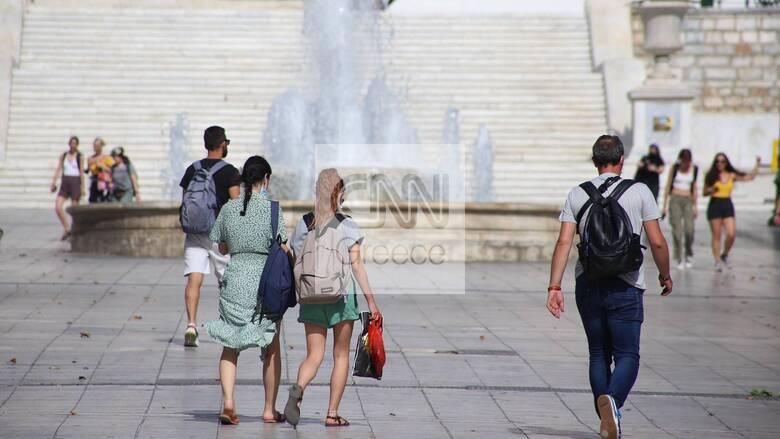 Καιρός: «Καμίνι» η χώρα για έκτη ημέρα - Στους 40 βαθμούς το θερμόμετρο