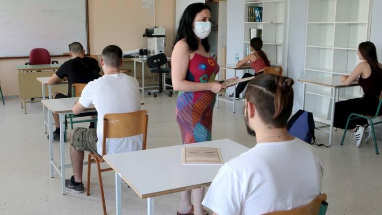 Πανελλήνιες 2021: Τελευταία μέρα εξετάσεων με τρία μαθήματα για τους υποψηφίους των ΕΠΑΛ