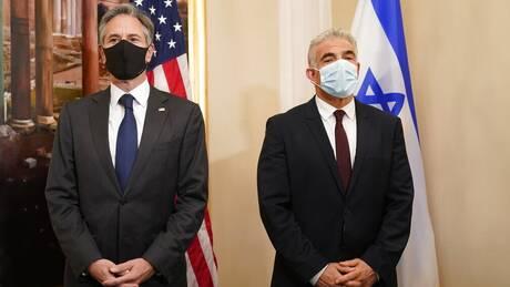 Λαπίντ προς Μπλίνκεν: Το Ισραήλ θα διορθώσει «τα λάθη που έγιναν» στις σχέσεις με τις ΗΠΑ