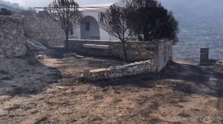 Φωτιά στην Πάρο: Σε ύφεση μετά τις αναζωπυρώσεις