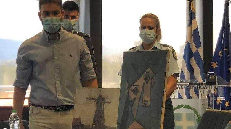 Πινακοθήκη: Πώς έφτασε η αστυνομία στον 49χρονο δράστη - Οι ανακοινώσεις Χρυσοχοΐδη και Μενδώνη