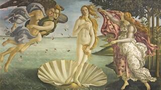 Σχεδιαστής μόδας «ζωντάνεψε» το φόρεμα του πίνακα του Μποτιτσέλι «Η Γέννηση της Αφροδίτης»