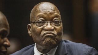 Nότιος Αφρική: 15 μήνες φυλακή στον πρώην πρόεδρο Ζούμα για ασέβεια στο δικαστήριο