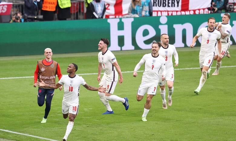 Euro 2020: «Ξόρκισε» την κατάρα η Αγγλία, 2 - 0 την Γερμανία και πέρασε στους «8»