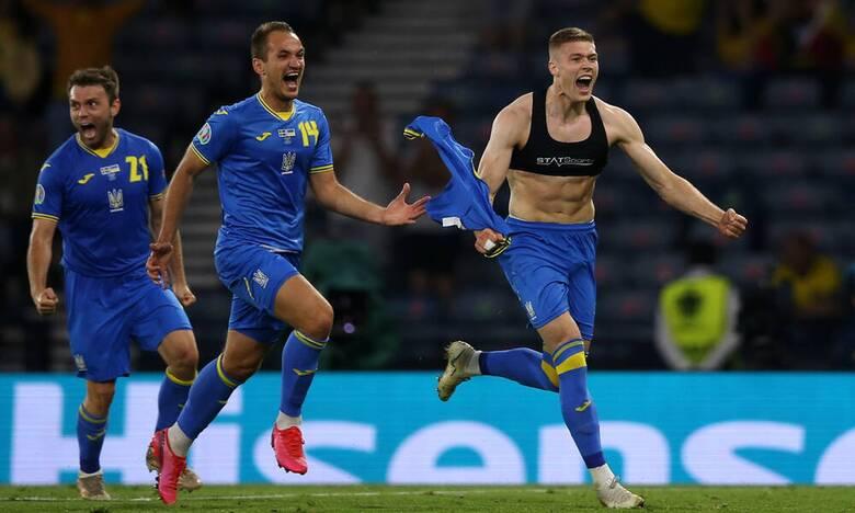 Euro 2020: Σουηδία - Ουκρανία 1-2