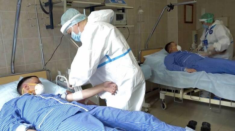Ρωσία- Κορωνοϊός: Αριθμός ρεκόρ θανάτων καταγράφηκε για δεύτερο συνεχόμενο 24ωρο