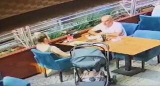 Σάλος στην Τουρκία: Άνδρας απειλεί με σπασμένο ποτήρι την πρώην σύζυγο σε δημόσια θέα