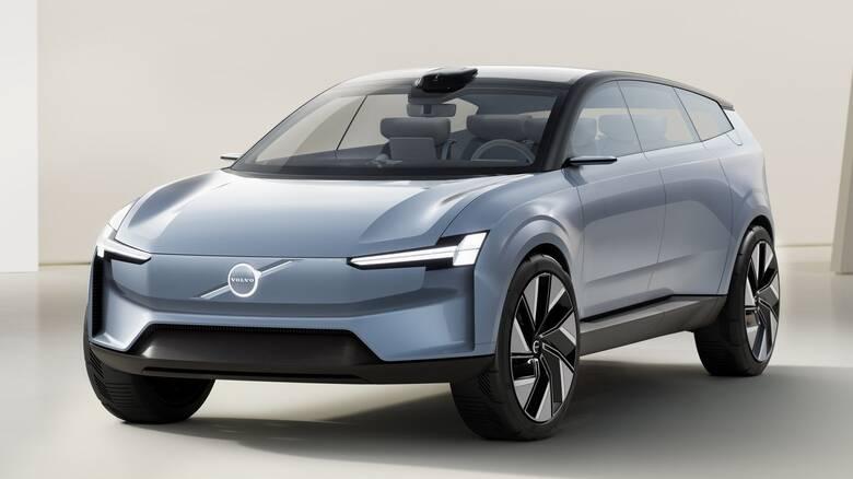 Το Concept Recharge προλογίζει το ηλεκτρικό μέλλον της Volvo