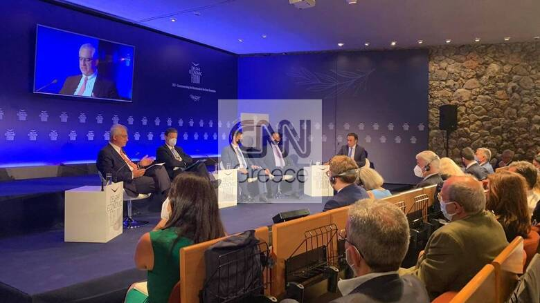 Συνέδριο Δελφών: Αλλαγή παραδείγματος και συνολικά 60 δισ. ευρώ μέσω του Ταμείου Ανάκαμψης