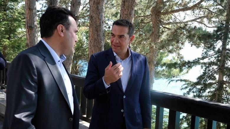 Τσίπρας στην Οχρίδα: Η υλοποίηση της Συμφωνίας των Πρεσπών είναι η απάντηση στους εχθρούς της